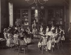 Kindergarten Department of the Perkins Institution for the Blind in Jamaica Plain. Prepared for the World's Columbian Exposition, 1893. Visit the Perkins Archives Flicker page: http://www.flickr.com/photos/perkinsarchive/collections/