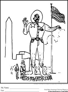 texas capitol coloring pages - photo#33
