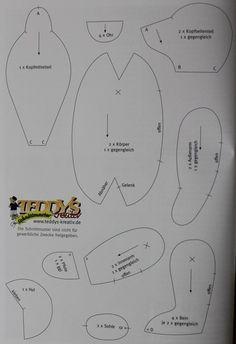 Harlekin bear pattern 2 of 2