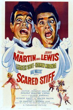 Image detail for -... de -Morrendo de Medo- (Scared Stiff - Paramount Pictures, 1953