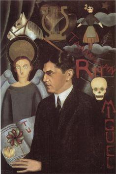 Frida Kahlo Paintings & Artwork Gallery in Chronological Order