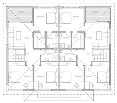 house design duplex-house-ch177D 11