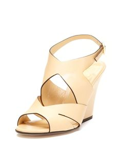 Ivory sandal by Kate Spade - Gilt Groupe