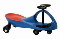 """PlasmaCar Blue by PlasmaCar. $50.99. Great exercise inside or outdoors.. Multiple award winner. The PlasmaCar is meant to be used on a smooth, flat, hard surface and will not function properly on carpet, grass, gravel, sand or any surface with """"give"""".. No gears, batteries or pedals. Just steer and away you go.. Sleek, innovative design. Amazon.com                The streamlined and colorful PlasmaCar requires no batteries, gears, or pedals--simply hop on and go. Turning the..."""