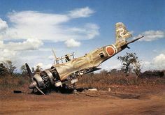 Wrecked Japanese a/c