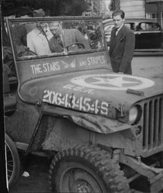 Army Birthday Parties, Willys Mb, 4x4 Trucks, Press Photo, Us Army, World War Two, Cars And Motorcycles, Military Vehicles, Wwii