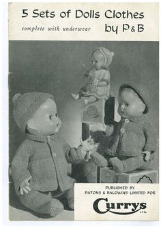I'm sure I knitted similar for my dolls back in the day