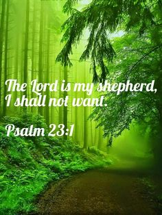The Lord is my shepherd. Bible Verse Background, Beautiful Verses, Bible Verses Quotes, Scriptures, Because He Lives, Christian Wallpaper, Lord Is My Shepherd, Psalm 23, Scripture Study