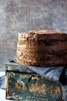 Coffee flavored cake with whipped mocha ganache. It is the ultimate coffee lover's cake
