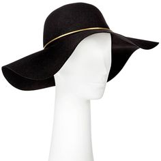 Mossimo Supply Co. - Floppy Hat With Gold Trim