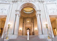 San Francisco City Hall Wedding | SF | Bay Area | Blueberry Photography