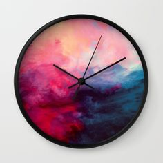 Buy Reassurance Wall Clock by Caleb Troy. Worldwide shipping available at Society6.com. Just one of millions of high quality products available.