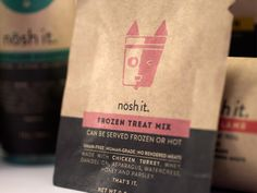 nōsh it - Premium Pet Food (Student Project) on Packaging of the World - Creative Package Design Gallery