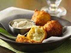 Potato and Sage Fritters with LemonAioli (gluten free, dairy free)