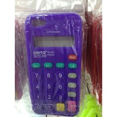 iPhone 5 Silikon Case Hülle Taschenrechner