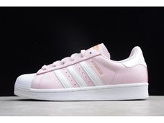 Shop Best Quality Women's adidas Superstar Pink/White-Metallic Gold Boost from Online Sneaker Shop PerfectKicks with Affordable Price! Women's Shoes, Tennis Shoes Outfit, Red Shoes, Adidas Superstar, Adidas Shoes, Wedding Shoes, Adidas Women, Pink White, Shoes