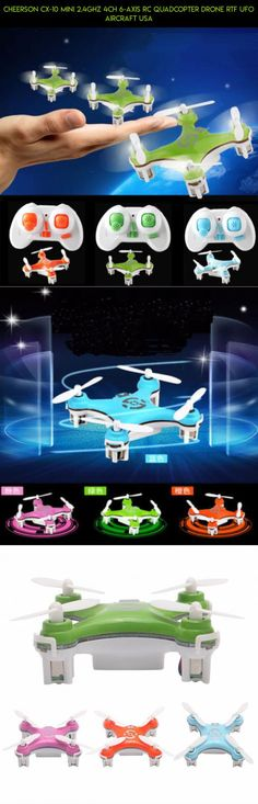 Cheerson CX-10 Mini 2.4Ghz 4CH 6-Axis RC Quadcopter Drone RTF UFO Aircraft USA #cheerson #6 #axis #parts #camera #racing #fpv #tech #technology #drone #shopping #kit #plans #products #gadgets
