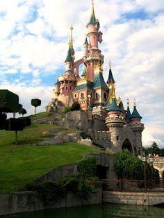 Sleeping Beauty's Castle in Disneyland Paris, France