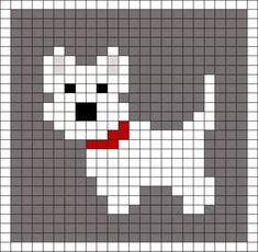 Little Scottie dog pattern chart, great for making crochet corner to corner . : Little Scottie dog pattern chart, great for making crochet corner to corner blanket, or afgan. This could be used as a Graphgan pattern: Cross Stitch Cards, Cross Stitch Animals, Cross Stitching, Cross Stitch Embroidery, Knitting Charts, Baby Knitting Patterns, Knitting Stitches, Needlepoint Stitches, Crochet Patterns