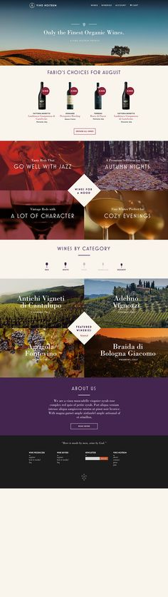Vino Nostrum. #webdesign #graphicdesign