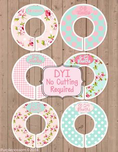 Hey, I found this really awesome Etsy listing at https://www.etsy.com/listing/150246625/custom-closet-dividers-baby-closet