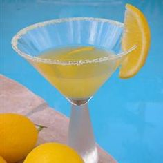 meyer lemon martini with a bumper crop or meyer lemons i was so ...