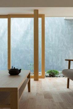 La maison moderne japonaise par uemachi laboratory for Architecture japonaise contemporaine