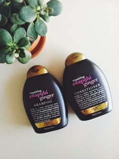 love | living | whole: OGX Repairing Awapuhi Ginger Shampoo and Conditioner