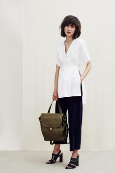 See the Whistles pre-spring/summer 2016 collection. Click through for full gallery