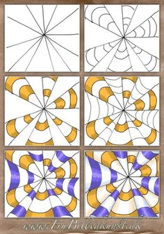 Optical Illusions For Kids, Optical Illusions Drawings, Illusion Drawings, Art Optical, Illusion Art, Art Drawings, Illusions Mind, Drawing Art, Op Art Lessons