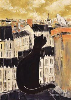 Poes in Parijs