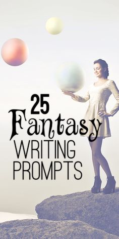 Get inspired with these fantasy writing prompts