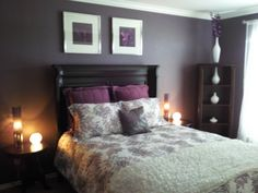 Plum Bedrooms Ideas | Guest Bedroom   Bedroom Designs   Decorating Ideas    HGTV Rate My