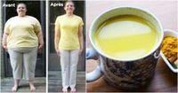 Perdez jusqu'à 2,5 kilos en une semaine avec ce thé incroyable ! Recette pour perdre du poids. 1 litre d'eau Le jus d'un citron ½ cuillère à café de curcuma ½ cuillère à café de gingembre Une pincée de piment de Cayenne