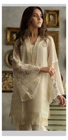 Salwar Designs, Pakistani Kurta Designs, Kurta Designs Women, Pakistani Dress Design, Pakistani Lawn Suits, Latest Pakistani Dresses, Beautiful Pakistani Dresses, Pakistani Fashion Party Wear, Pakistani Outfits
