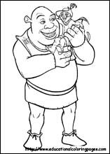 Coloring Pages For Kids Shrek coloring pages