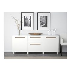 BESTÅ Storage combination with drawers - Marviken white, drawer runner, soft-closing - IKEA