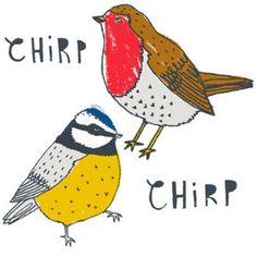 Charlotte Farmer Coasters | Chirp Chirp -  Bloomsbury Store - 1