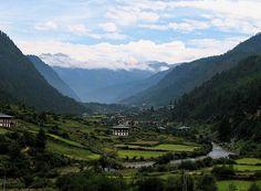 The Haa Valley in Western Bhutan