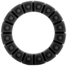 Shots Toys Silikon Liebes Wheel - klein - schwarz - Penisringe