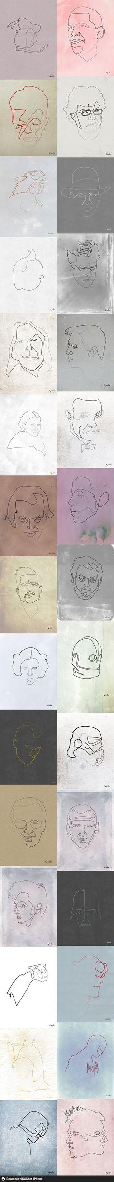 Ilustraciones - Mucho en una sola linea