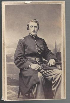 Civil War CDV of Union Captain Isaac D Clapp of the 77th New York Vols in Collectibles, Militaria, Civil War (1861-65), Original Period Items, Photographs | eBay