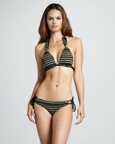 Vitamin A Cleopatra Halter Swim Top