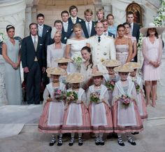Prince Albert of Monaco and Charlene Wittstock, July 2, 2011