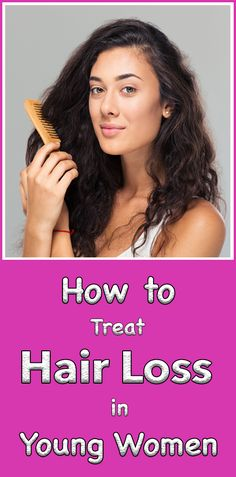 In order to treat hair loss in young women successfully, you must first find the cause of the problem. Once you know that, you'll need to combine medication, hair care products, and nutritional supplements to restore your locks to their original beauty.