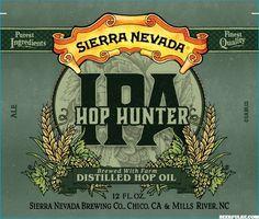 Sierra Nevada Hop Hunter IPA label