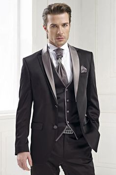 Double Button Men's Suit