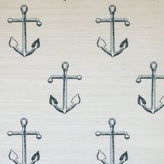 Holden // grasscloth our grounded anchor gets a makeover on a textural grasscloth