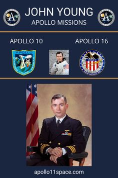 John Young became the ninth person to walk on the Moon as commander of the Apollo 16 mission in 1972. #Apollo10 #Apollo16 #ApolloProgram #JohnYoung John Young Astronaut, Apollo 16, Apollo Program, Apollo Missions, Nasa Astronauts, Space Program, Space Exploration, Perfume Bottles, Moon
