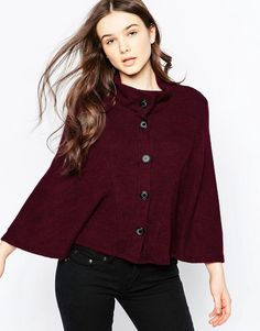 Image 1 of Wal G Knitted Cape